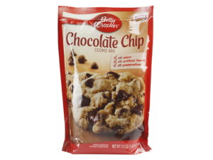 BETTY CROCKER Chocolate Chip Cookie Mix (Pouch)	17.5oz