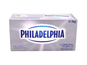 Philadelphia Cream Cheese Original Block 2kg