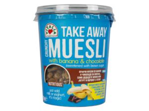 VITALIA Take Away Crunchy Muesli w/ Banana & Chocolate 90g