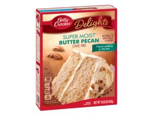 BETTY CROCKER Super Moist Cake Mix Butter Pecan 15.25oz