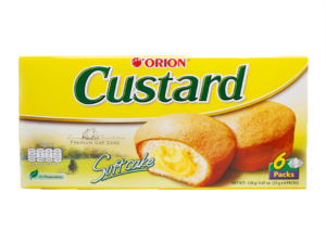 ORION Custard Softcake 6 Packs 4.87oz