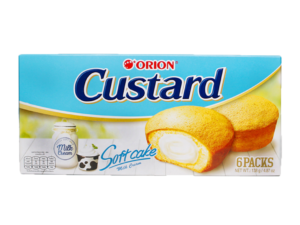 ORION Custard Milk Cream 6 packs 4.87oz