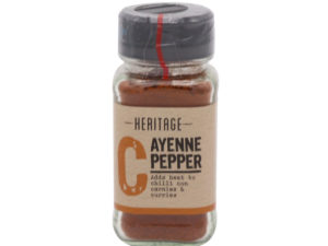 HERITAGE Cayenne Pepper 38g