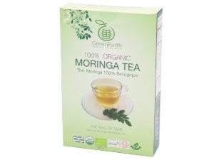 GREENEARTH Organic Moringa Tea 100g