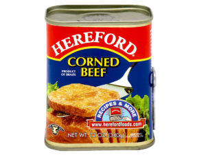HEREFORD Corned Beef Regular 12oz