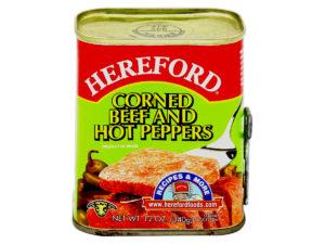HEREFORD Corned Beef Hot Pepper 12oz