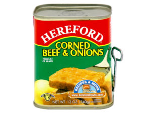 HEREFORD Corned Beef Onion 12oz