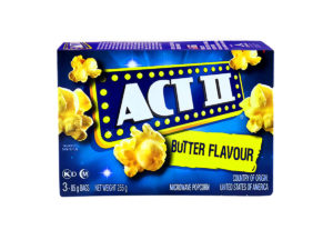 ACT II Butter Flavour 3ct 85g