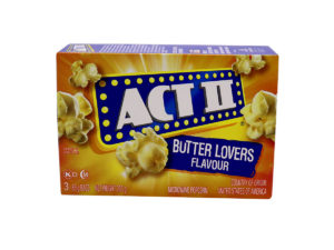 ACT II Butter Lovers 3ct 85g
