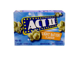 ACT II Light Butter 3ct 80.6g