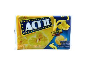 ACT II Butter Flavour Tray 12ct 85g