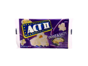 ACT II Sweet and Salty Kettle Corn Tray 12ct 85g