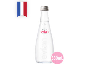 EVIAN Natural Mineral Water – Aramis (Glass) 330ml