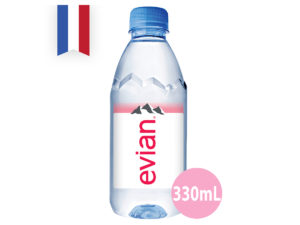 EVIAN Natural Mineral Water 330 ml
