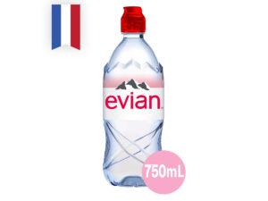 EVIAN Natural Mineral Water – Rebirth 750ml