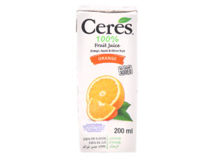 CERES Fruit Juice – Orange 200ml