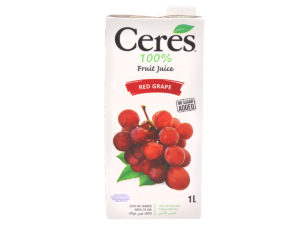 CERES Fruit Juice – Red Grape 1L