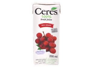CERES Fruit Juice – Red Grape 200ml