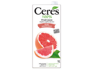 CERES Fruit Juice – Ruby Grapefruit 1L