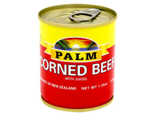 PALM Corned Beef w/ Natural Juice – Plain 210g