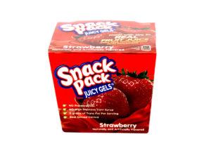 SNACK PACK Juicy Gels Strawberry Singles 92g
