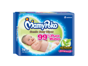 MAMY POKO Baby Wipes Anti Bac with Fragrance 76 pulls