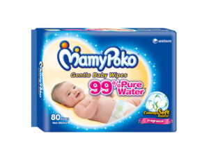 MAMY POKO Baby Wipes with Fragrance 80 Pulls