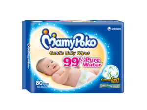 MAMY POKO Baby Wipes Fragrance Free 80 Pulls