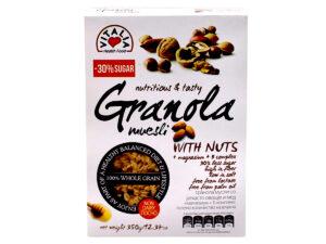 VITALIA 20% Less Sugar Nutri. & Tasty Granola Muesli w/ Nuts 350g