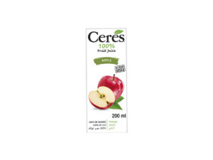 CERES Fruit Juice – Apple 200ml