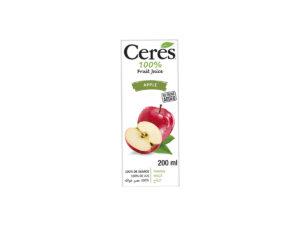 CERES Fruit Juice – Apple 200ml