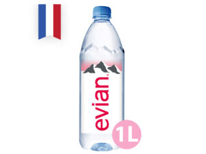 EVIAN Natural Mineral Water 1L