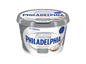 Philadelphia Cream Cheese for Cooking 30% Less Fat 250ml