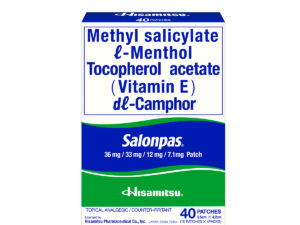 SALONPAS Medicated Patch 40's