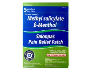 SALONPAS Pain Relief Patch 5's