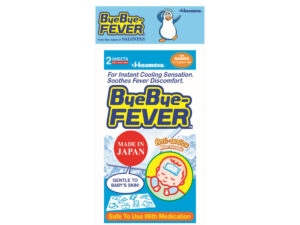 BYEBYE-FEVER Babies 2's x 6's