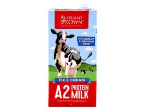 AUSTRALIA'S OWN Full Cream Protein Milk 1L