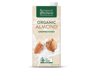 AUSTRALIA'S OWN Almond Unsweetend 1L