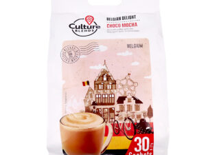 CULTURE BLENDS  Belgian Delight Choco Mocha 30 x 27g sachet