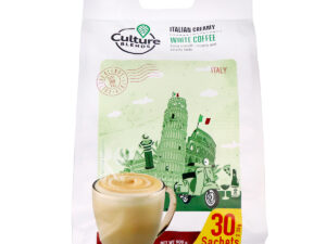 CULTURE BLENDS  Italian Creamy White Coffee 30 x 30g sachet