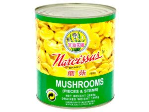 NARCISSUS Mushroom Pcs & Stems 2840g