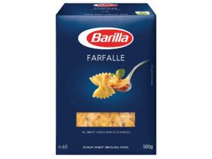 BARILLA Italian Pasta Farfalle 500g