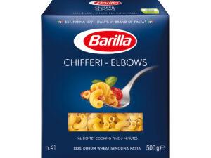 BARILLA Italian Pasta Chifferi Elbows 500g